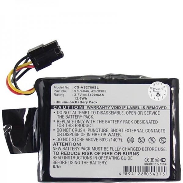 RAID Controller Battery passend für IBM 39J5554, 42R8305, 97P4846, CGA-E/212AE