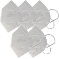 5 Stück Premium FFP2 Maske latexfrei 7-Lagig ohne Ventil, Wochenpackung, zertifiziert nach DIN EN149:2001+A1:2009, partikelfiltrierende Halbmaske, FFP2...