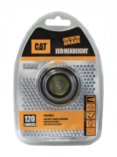 CAT CT40150P LED Kopfleuchte 120 Lumen bis zu 60 Meter Leuchtweite