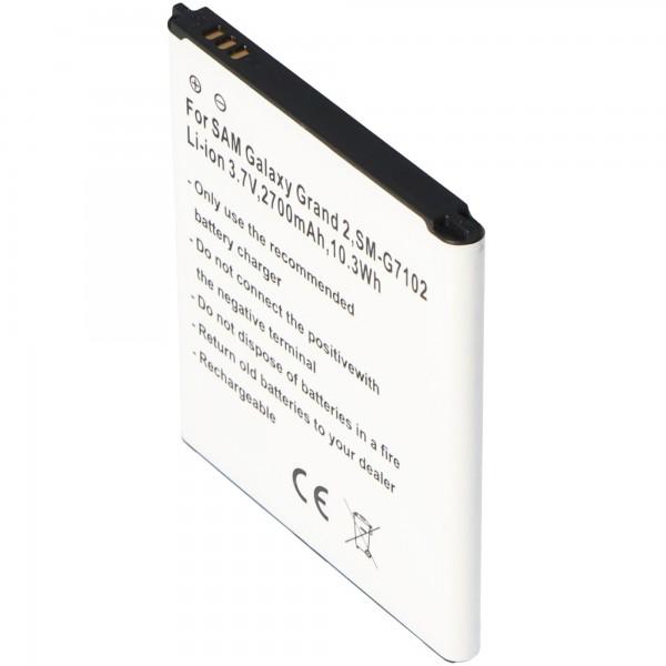 Akku für Samsung Galaxy Grand 2 Duos, EB-B220AC, EB665468LU