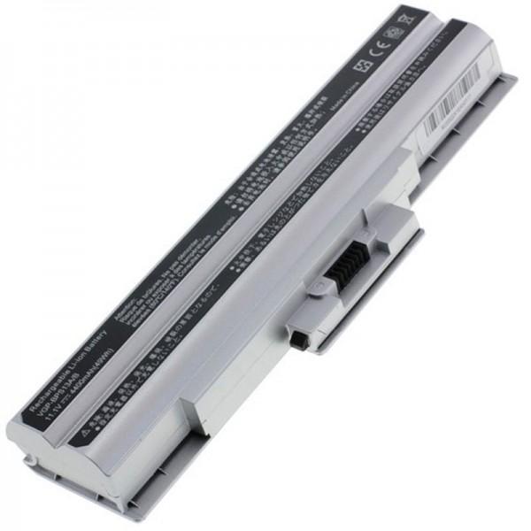 Akku passend für Sony VGP-BPS21, VGP-BPS21A 4400mAh Silber