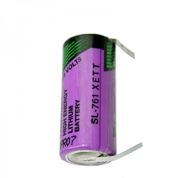 Sonnenschein Inorganic Lithium Battery SL761/T mit Lötfahnen