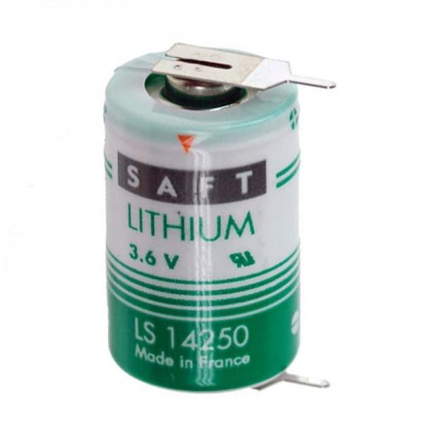 SAFT LS142502PF Lithium Batterie, Size 1/2 AA mit Printfahnen
