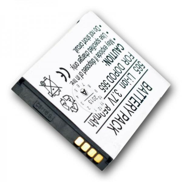 AccuCell Akku passend für QTEK 8010, ST26, 1050mAh