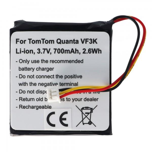 Akku passend für den TOMTOM Quanta Akku VF3K, VF3, FM68360420759