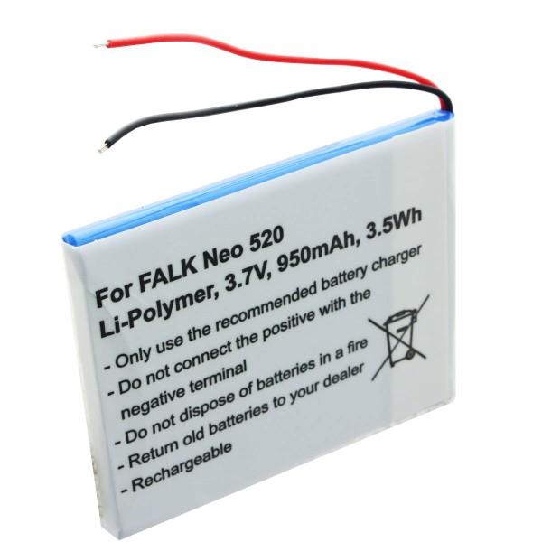 Akku passend für Falk Neo 520, Neo 520LMU Akku SR404255