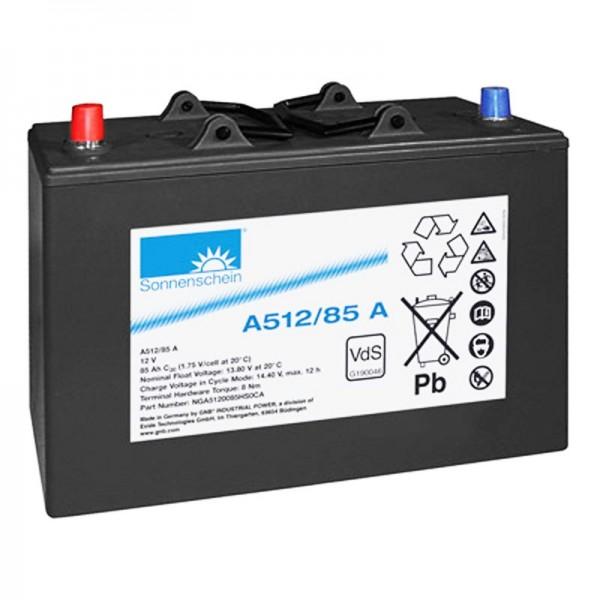 Exide Dryfit A512/85A 0889572200 Akku 12 Volt 85Ah 330 x 171 x 213mm