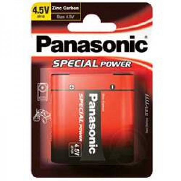 Panasonic 3R12 Flachbatterie Special Power 3R12R Zink Carbon