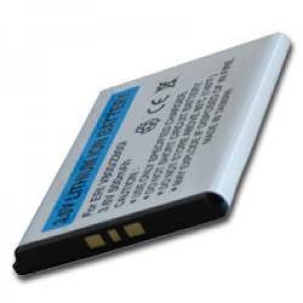 AccuCell Akku passend für Sony Ericsson K810i, 500mAh