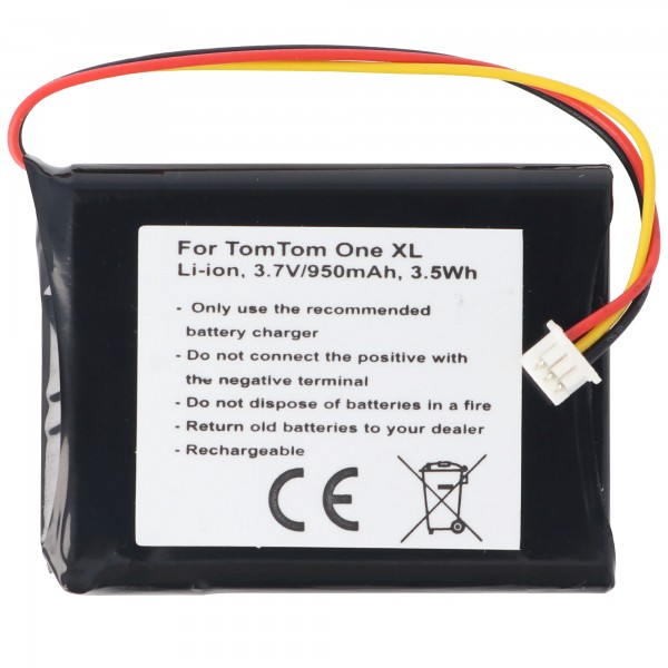 Akku passend für Tom Tom One XL Akku F724035958 TomTom Edinburgh F650010252