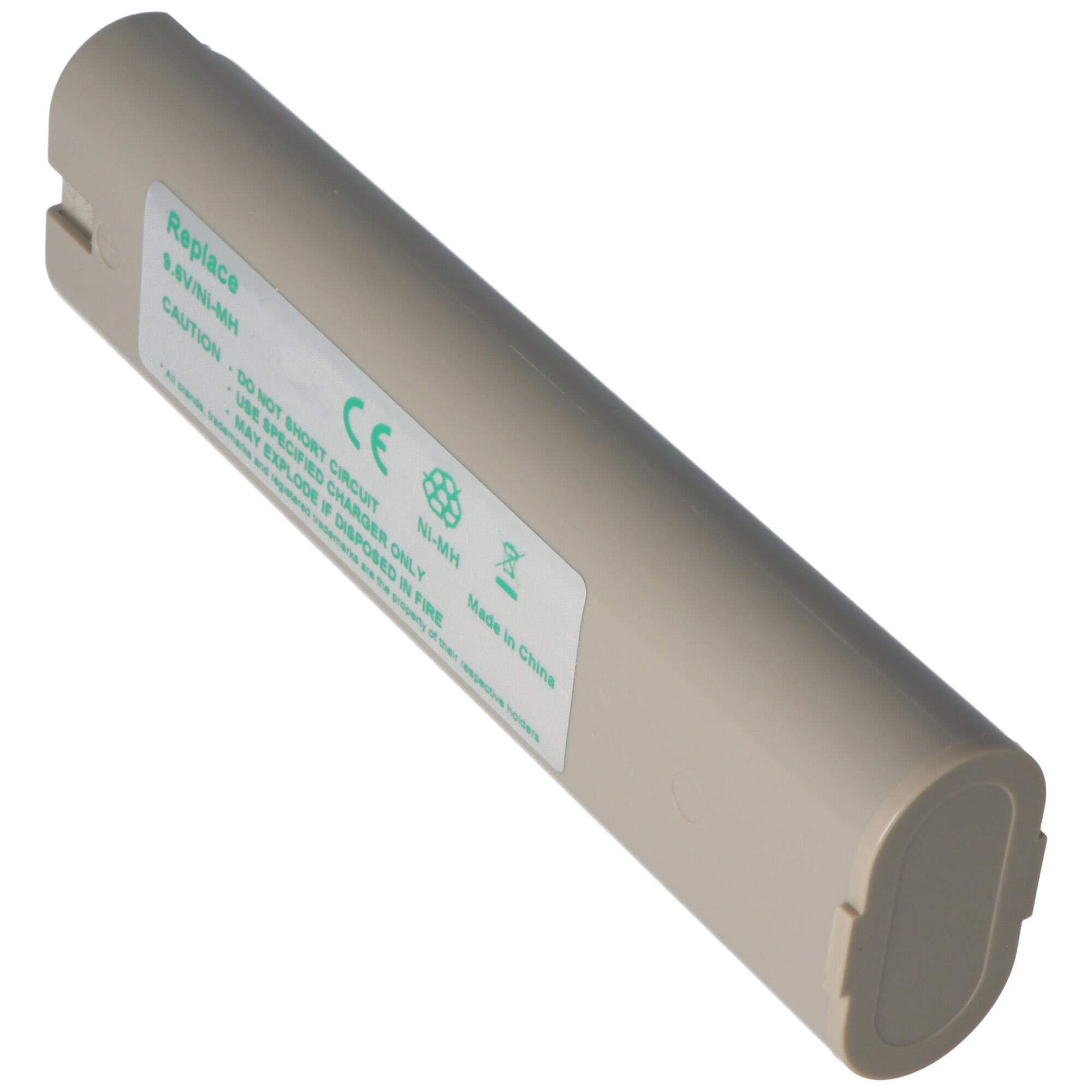 Batteria 9,6V 1500mAh Ni-MH per Makita 9100,9101,9102,9120,9122,9133,9134,9135