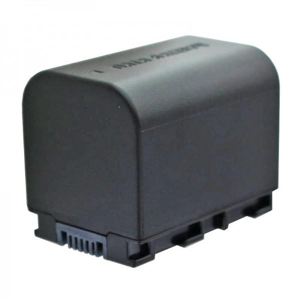 BN-VG121 kompatibler Ersatz-Akku von AccuCell mit 2400mAh