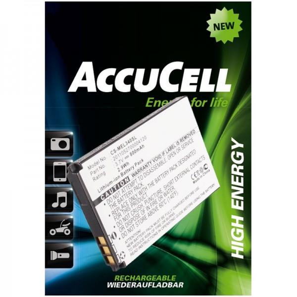 AccuCell Akku passend für Elson, Mobistel EL340, EL340 Dual, etc..