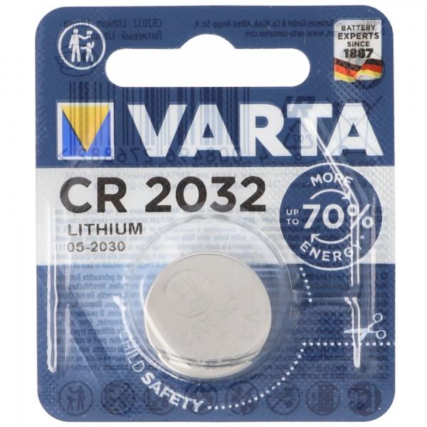 Varta CR2032 Lithium Batterie IEC CR2032 20 x 3,2mm