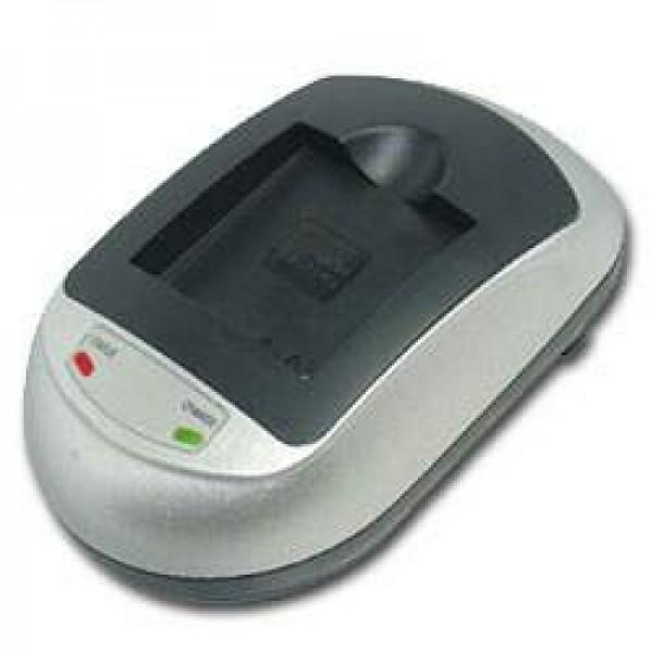 Schnell-Ladegerät passend für JVC BN-VM200, BN-VM200U