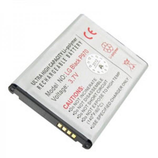 Akku passend für LG P970 Akku BL-44JN, BL-44 JN, LG E430, LG-e430, Modellnummer: BTE-P970, kompatibel mit 1ICP5/44/65, EAC61679601