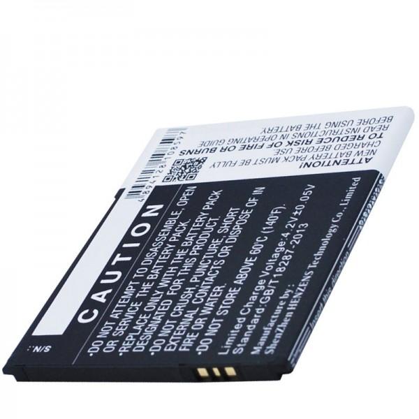 Akku passend für BQ Aquaris 5.0 HD B20 Li-Ion 3,7 Volt 2000mAh