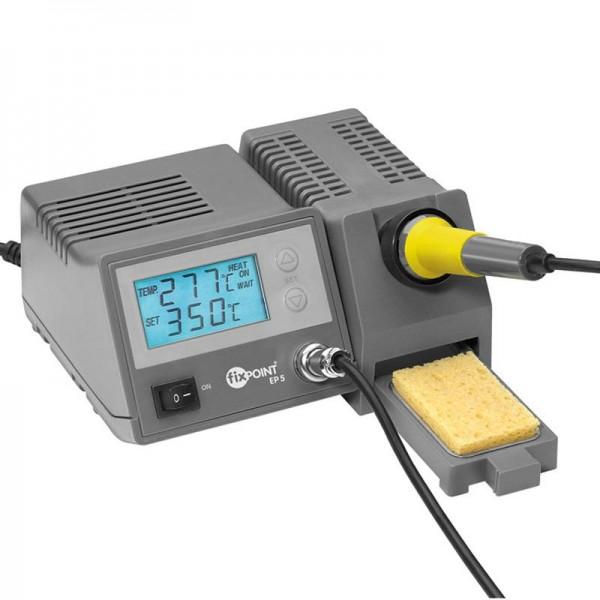 Digitale Lötstation mit blauer LED Anzeige, Temperaturanzeige