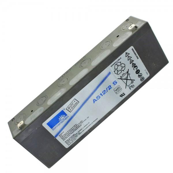 Sonnenschein Dryfit A512/2.0S Blei Akku, VdS-Nr. G191016 Faston 4,8mm Steckkontakte