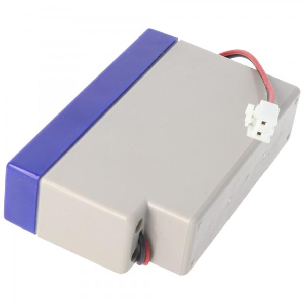 UL0.8-12S Ultracell Blei Akku 12 Volt 0,8Ah mit Kabel und JST-Stecker