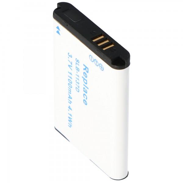Akku passend für Samsung SLB-1137D Akku mit 1100mAh