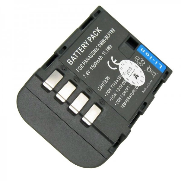 DMW-BLF19E Qualitäts-Akku von AccuCell passend für Panasonic DMC-GH3, Lumix DMC-GH3A