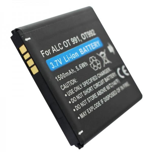 Alcatel One Touch 991 AkkuBY78, CAB32A0000C1, CAB32A0000C2, TLiB32A als Nachbau Akku von AccuCell