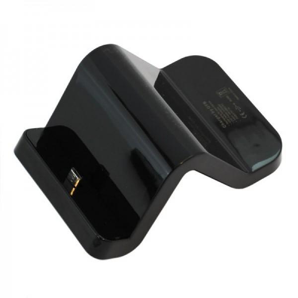 Dockingstation mit variablem Micro USB Stecker für viele Geräte
