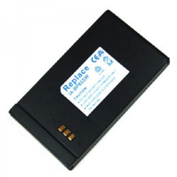Akku passend für Samsung VP-DX10, 850mAh