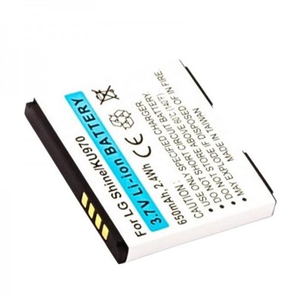 AccuCell Akku passend für LG KF750, KF755, LGIP-470A, SPPL00857