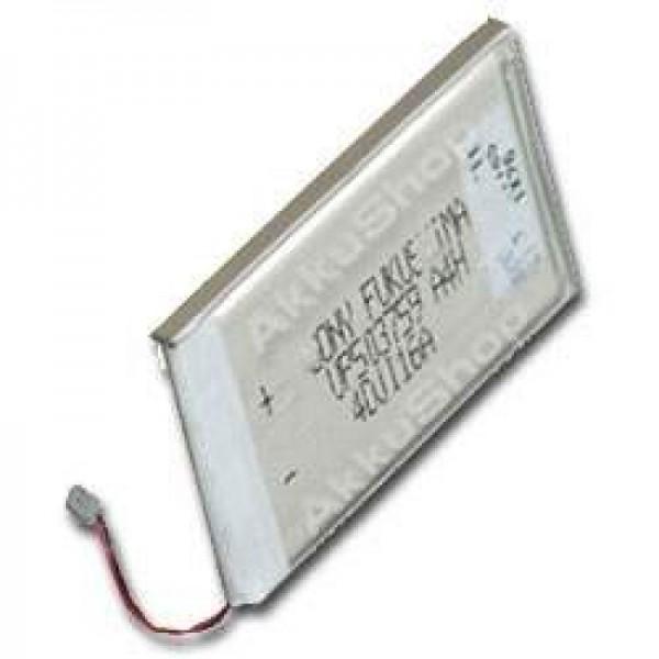 AccuCell Akku passend für Sony Clie PEG-N710C, PEG-N760C