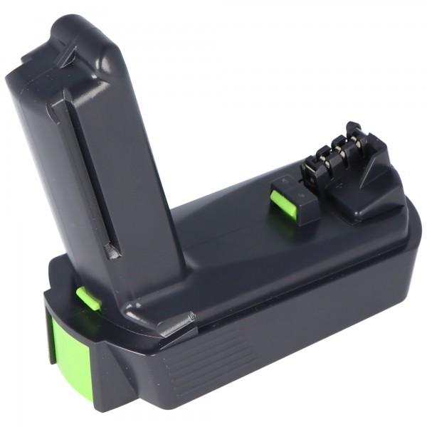 Akku Imitat passend für Festool BP-XS Akku 2,5Ah Nr. 498616 für CXS Akku-Bohrschrauber