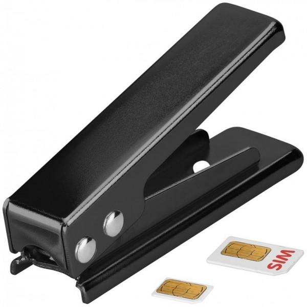 SIM-Karten Stanze Micro, Kartenstanze SIM auf Micro-SIM, schwarz