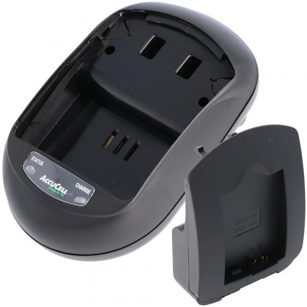 Schnell-Ladegerät passend für Sony NEX-3, Sony NEX-5 Akku NP-FW50