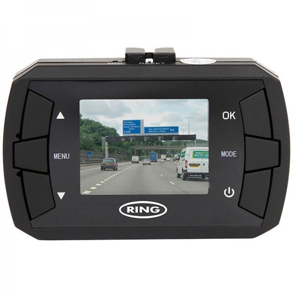 """RING Dashcam RBGDC15 12/24V HD 1.5"""" Mini Display Dash Camera"""