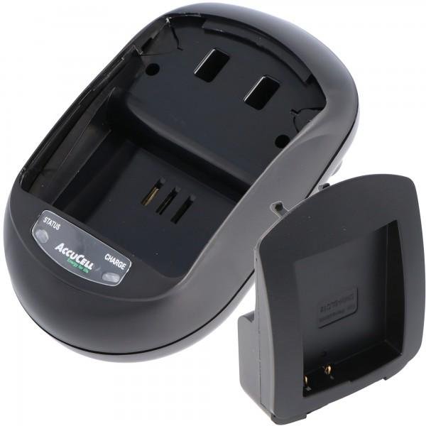 AccuCell Schnellladegerät passend für Panasonic DMW-BLC12, -GH2