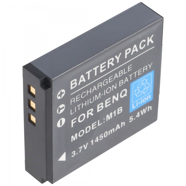 Praktica DVC 10.1 HDMI Akku von AccuCell mit 3,7 Volt, 1250mAh