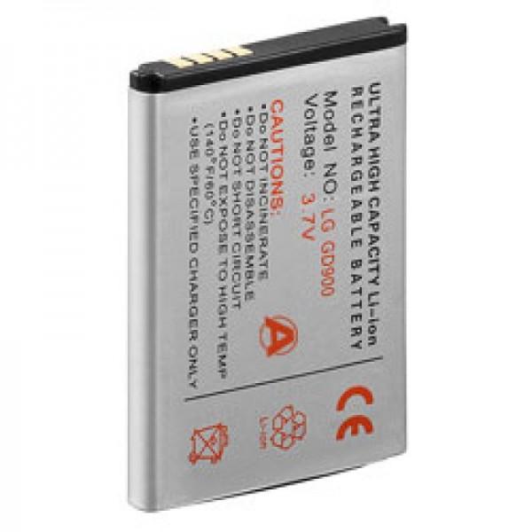 AccuCell Akku passend für LG BL40 newchocolate, GD900, SBPL0099