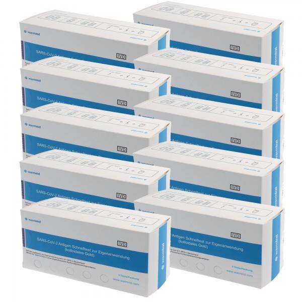 50 Watmind Lolli-Test COVID-19 Laientest (Speicheltest) mit BfArM-Sonderzulassung, Coronavirus (SARS-Cov-2) Antigen Schnelltest, kein PCR