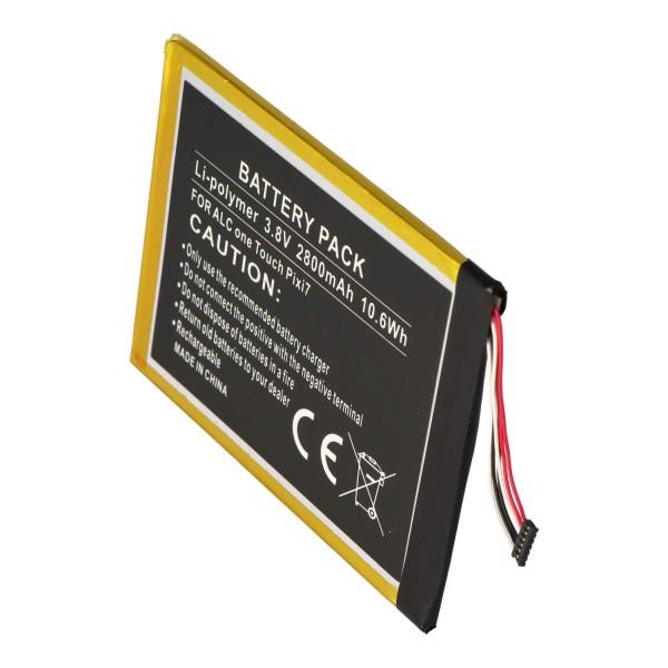 Akku passend für Alcatel One Touch Pixi 7, TLp028AD 3,8 Volt 2800mAh