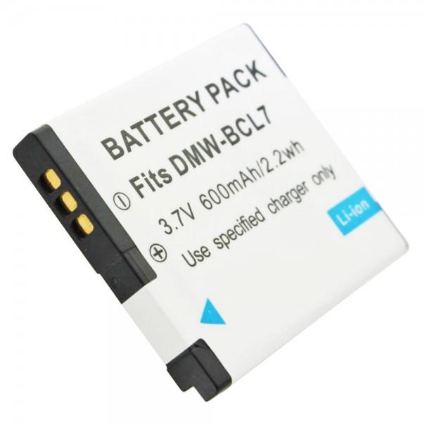 DMW-BCL7E Qualitäts-Akku von AccuCell passend für Panasonic