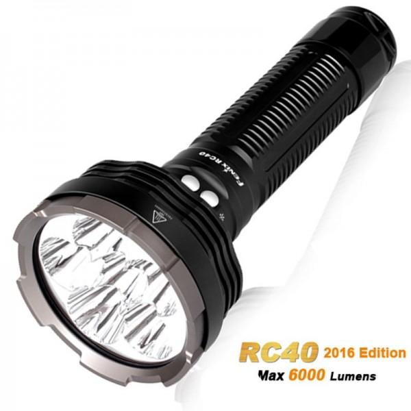 Fenix RC40 Cree XM-L2 U2 LED Taschenlampe mit 6000 Lumen, wiederaufladbar