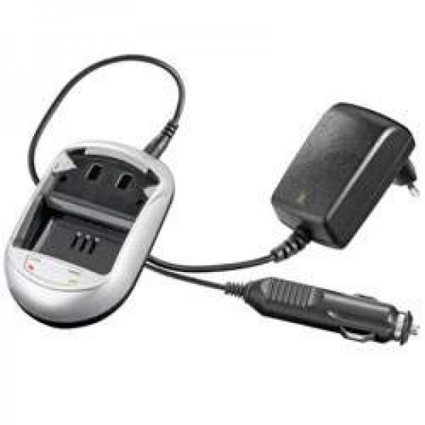 Schnell-Ladegerät passend für JVC BN-V907, BN-V907U