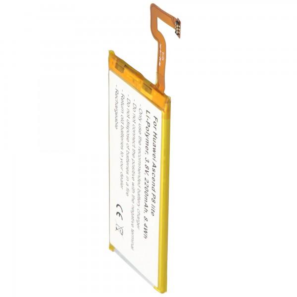Akku passend für Huawei Ascend P8 lite 3,8 Volt 2200mAh