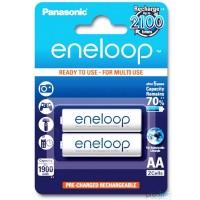 Panasonic eneloop Standard Akku AA 2er-Blister BK-3MCCE/2B und 1x AccuCell AccuSafe