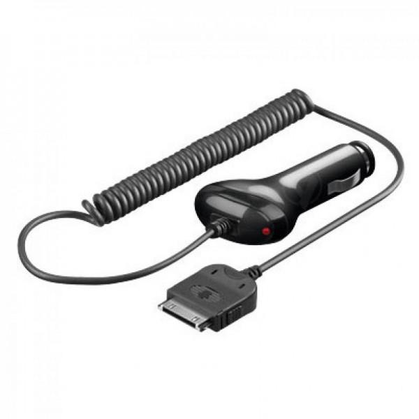 KFZ-Ladekabel 12V/24V passend für Apple iPad schwarz
