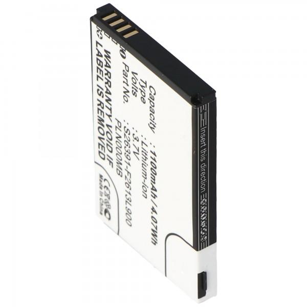 AccuCell Akku passend für Fujitsu-Siemens Pocket Loox N100