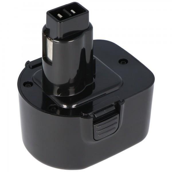 AccuCell battery for Dewalt ELU EZWA 60, 12Volt / 2,0Ah NiMH
