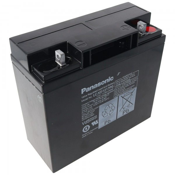 Panasonic LC-XD1217P Akku 12 Volt 17Ah