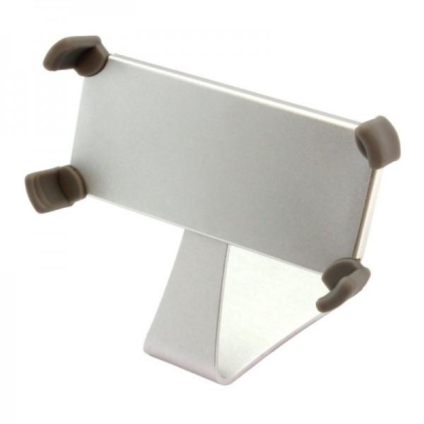 Ständer Alu für iPhone 4 / 4S / 5 Silber - drehbar